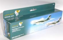 Airbus A330 & Boeing 737-800 Oman Air Collectors Models Twin Set Scale 1:200 / 1:250 E